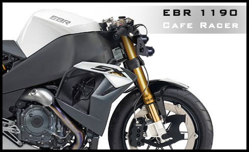 L'EBR 1190SX Cafe Racer par Krax